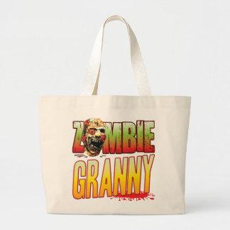 Granny Zombie Head Bag