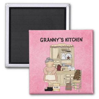 GRANNY'S KITCHEN MAGNET