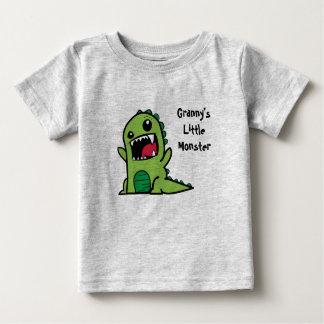 Granny's Little Monster Baby T-Shirt