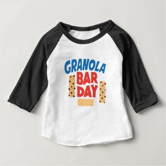 Granola Bar Day - Appreciation Day Baby T-Shirt
