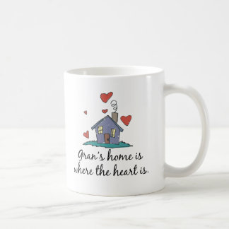 Gran's Home is Where the Heart is Mugs