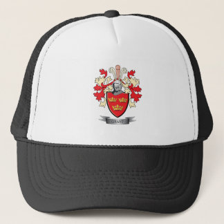 Grant Family Crest Coat of Arms Trucker Hat