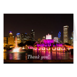 Grant Park Chicago Card