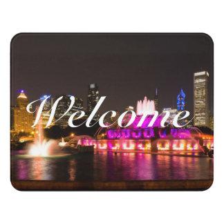Grant Park Chicago Door Sign
