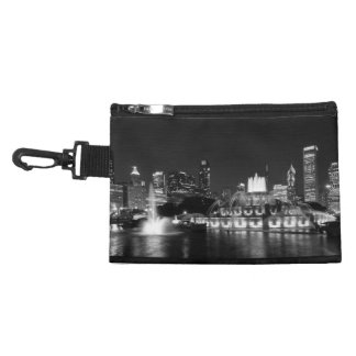 Grant Park Chicago Grayscale Accessory Bags