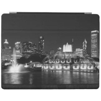 Grant Park Chicago Grayscale iPad Cover