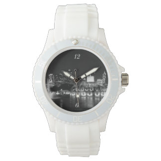 Grant Park Chicago Grayscale Wrist Watches