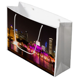Grant Park Chicago Large Gift Bag