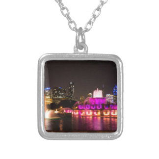 Grant Park Chicago Silver Plated Necklace
