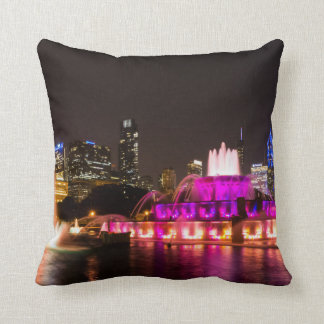 Grant Park Chicago Throw Pillow