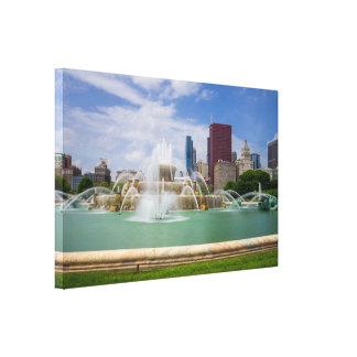 Grant Park City View Canvas Print