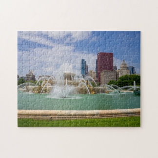 Grant Park City View Jigsaw Puzzle