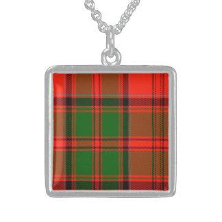 Grant Scottish Tartan Personalized Necklace