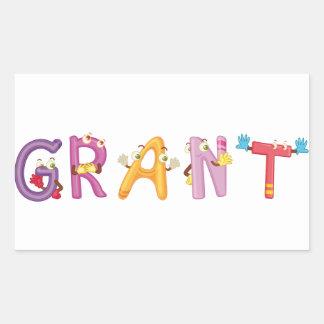 Grant Sticker