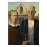 Grant Wood American Gothic Cards