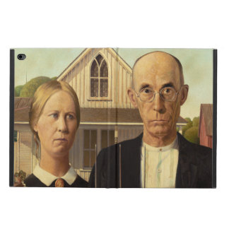 Grant Wood American Gothic Fine Art Painting Powis iPad Air 2 Case
