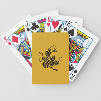 Grape branch bicycle playing cards