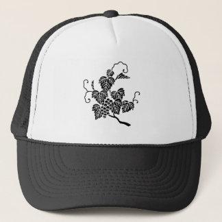 Grape branch trucker hat