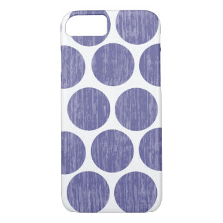 Grape Distressed Polka Dot iPhone 7 iPhone 7 Case