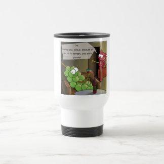 Grape Divorces Funny Stainless Steel Travel Mug