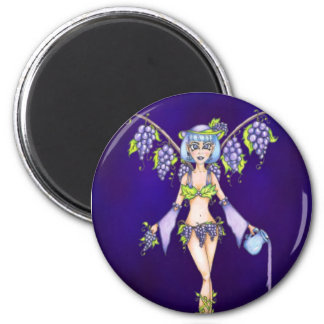 Grape Fairy Magnet