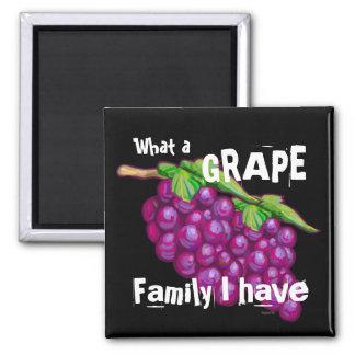 Grape Family Fridge Magnets
