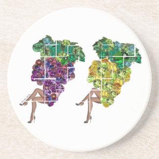 Grape Gems Coaster