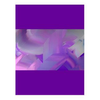 Grape Graffiti Post Card