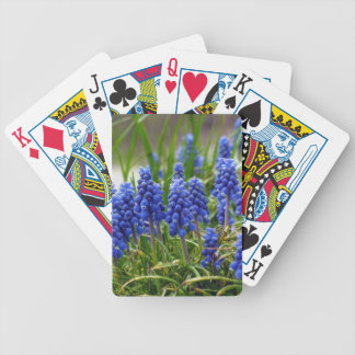 Grape Hyacinth Bicycle Playing Cards