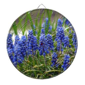 Grape Hyacinth Dartboard