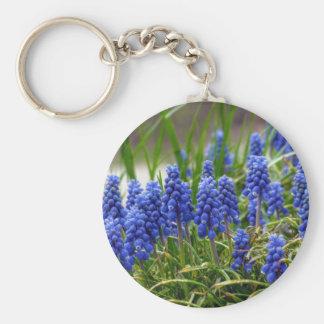 Grape Hyacinth Key Ring