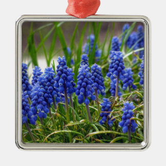 Grape Hyacinth Metal Ornament