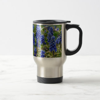 Grape Hyacinth Travel Mug