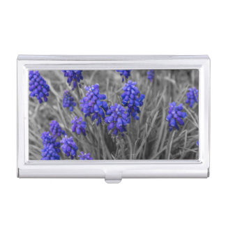 Grape Hyacinths Family Select Business Card Holder