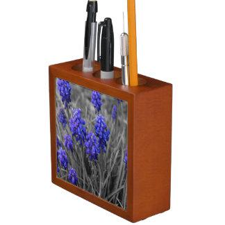 Grape Hyacinths Family Select Desk Organiser