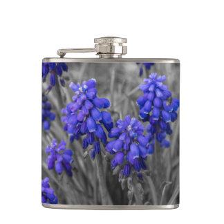 Grape Hyacinths Family Select Hip Flask