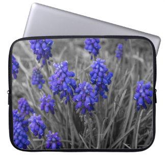 Grape Hyacinths Family Select Laptop Sleeve