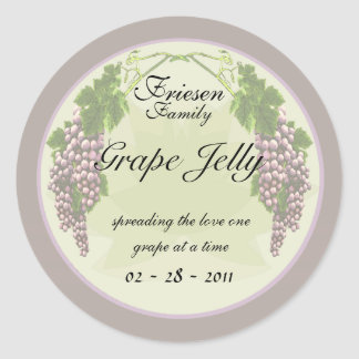 Grape Jelly labels