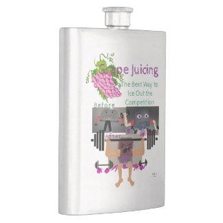 Grape Juicing Hip Flask