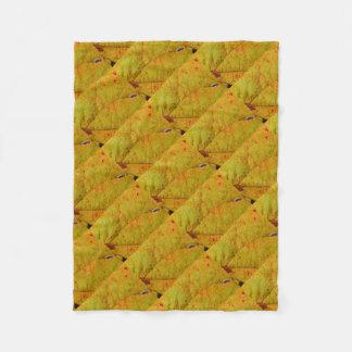 Grape Leaf Fleece Blanket