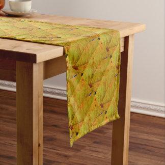 Grape Leaf Short Table Runner