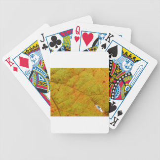 Grape Leaf Underside Bicycle Playing Cards