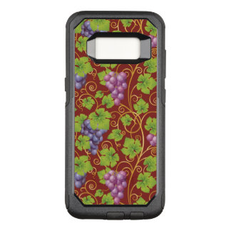 Grape Pattern OtterBox Commuter Samsung Galaxy S8 Case