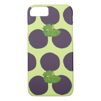 Grape Polka Dots iPhone 8/7 Case