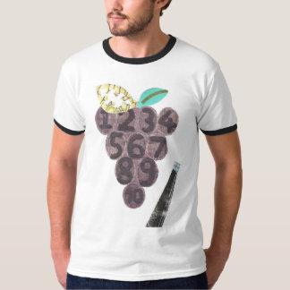 Grape Pool No Background Men's Ringer T-Shirt