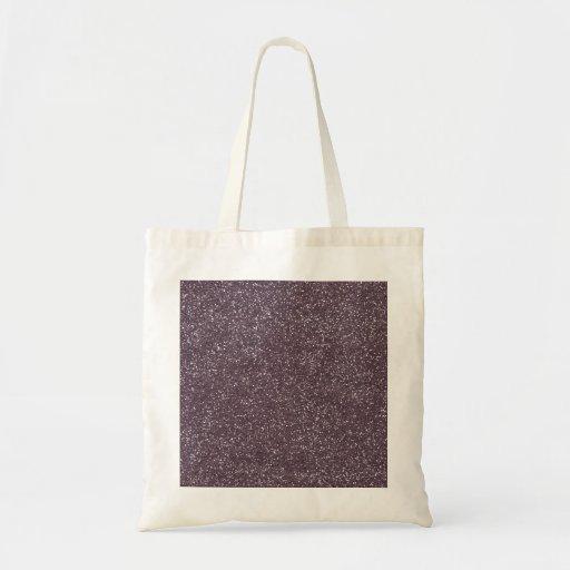 GRAPE purple BEE MINE GLITTER TEXTURE BACKGROUND T Canvas Bags