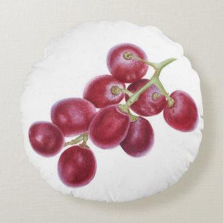 Grape Round Cushion