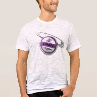 Grape Soda Bottle cap pin T-Shirt
