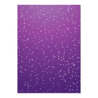 Grape Soda with Tiny Bubbles Background Art Cards