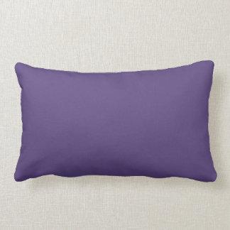 Grape Solid Colour Lumbar Cushion
